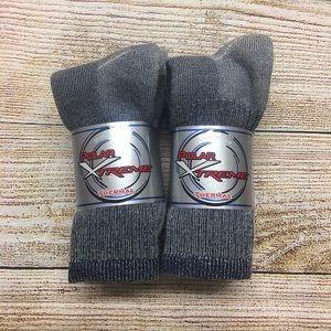 6 Pair Merino Wool Outdoor Thermal Hiking socks